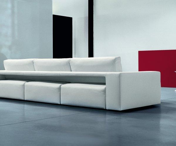 Il divano moderno con seduta estraibile - GENIUS -