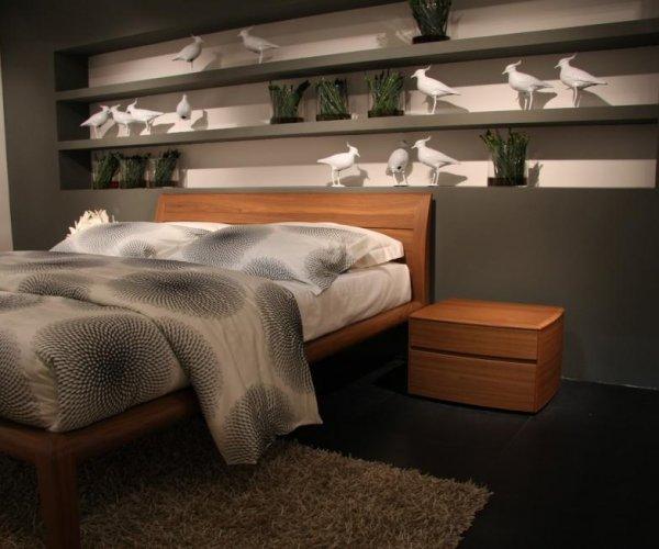 Il letto in ciliegio